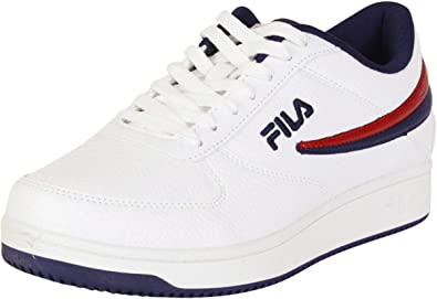Fila Mens A-Low Leather Sneakers
