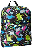 Loungefly LFBK0019 Backpack,Green/Purple/Blue/Black,One Size, Bags Central