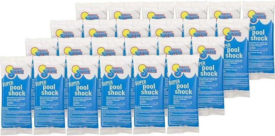 Amazon.com: En la piscina Swim Super Shock 24 x 1 lb. bolsas ...