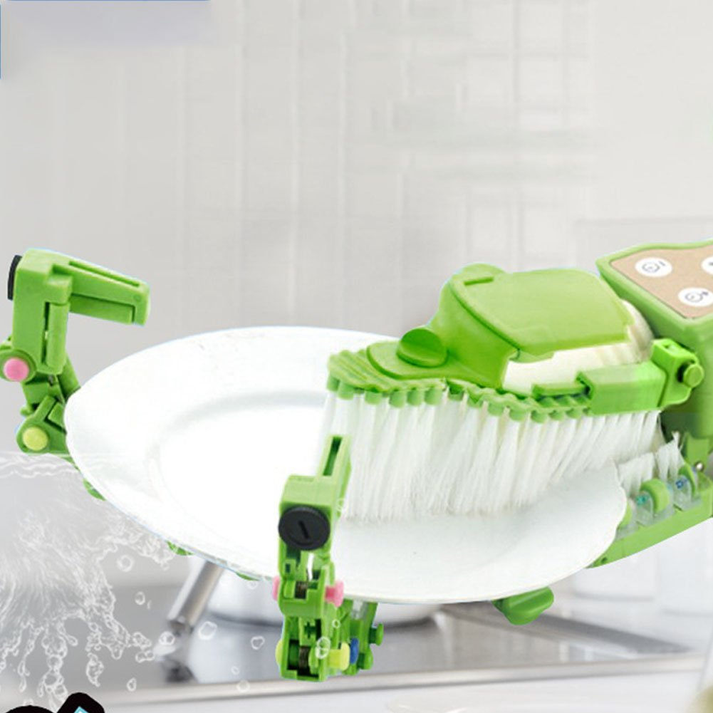 BeesClover Simple Handhold Dishwasher Dish Washing Machine Kitchen Supplies