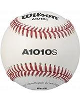 Wilson A1010S Soft Compression Baseball, White