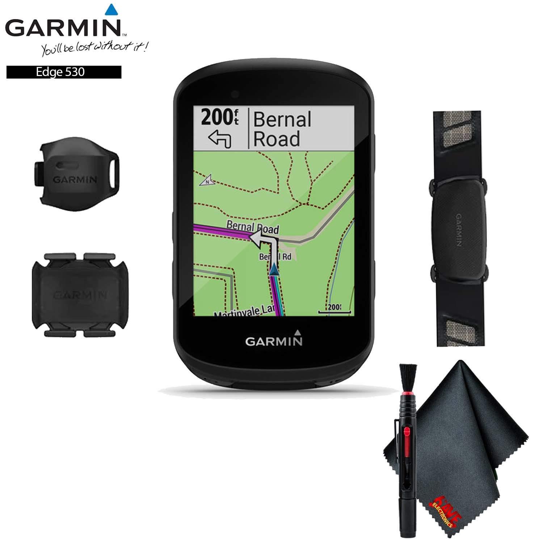 Garmin Edge 530 GPS Cycling Computer (Sensor Bundle) Base Accessory Kit by Garmin