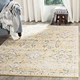 Safavieh Evoke Collection EVK224B Contemporary Bohemian Gold and Ivory Area Rug (6'7″ x 9′) Review
