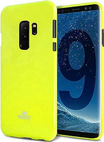 LEFANG Neon para Samsung Galaxy S9 Plus [Funda de neón] Cáscara ...