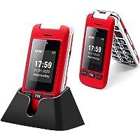 Artfone Flip Teléfono móviles para Personas Mayores con Teclas Grandes con Pantalla de 2.4 Pulgadas, Fácil de Usar para…