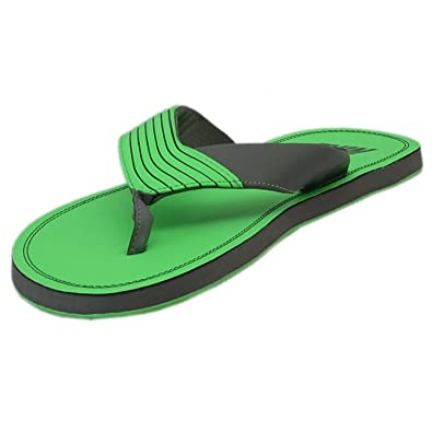 3a429409e57 Nike Men s Chroma Thong III Poison Green Flipflops and House Slippers uk 6   Amazon.in  Shoes   Handbags