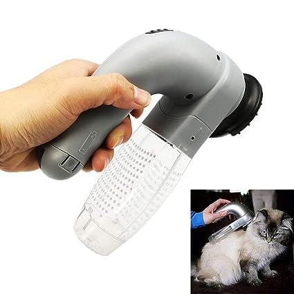 D-SYANA8 peine limpiador de mascotas recargable, para perro, gato ...