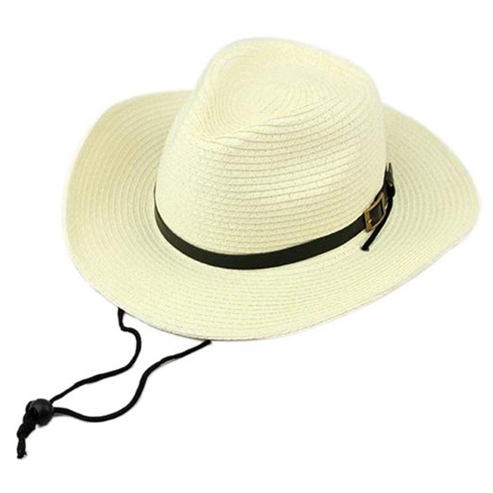 LIANGUK Sombrero de Jazz Playa Paja Panama Estilo Británico Deporte al Aire  Libre Gorro del Sol Sombrero Modelos de Pareja para Hombre Mujer 4dd3c8d0d04