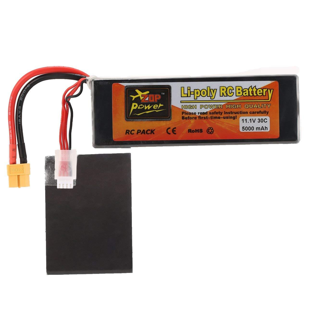 2Pcs ZOP Power 14.8V 4500mAh 4S 45C Lipo Battery XT60 Plug For RC Car Boat Quadc