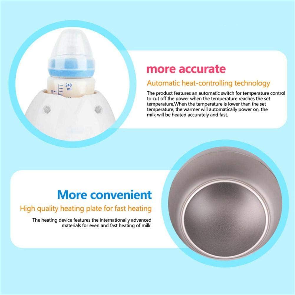 strety Chauffe-biberon St/érilisateur pour biberons R/échauffeur daliments pour b/éb/é R/échauffeur de biberons Multifonctionnel avec Technologie de Protection nutritionnelle et /écran LCD