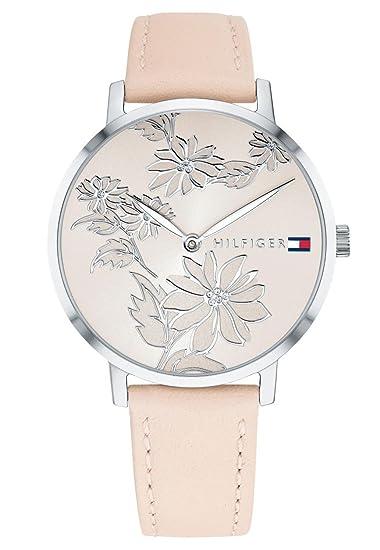Tommy Hilfiger Reloj Analógico para Mujer de Cuarzo con Correa en Cuero 1781919: Amazon.es: Relojes