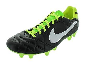 huge discount e96ea 8a52b Nike Tiempo Legend IV - Black/Electric Green/White: Amazon.co.uk ...