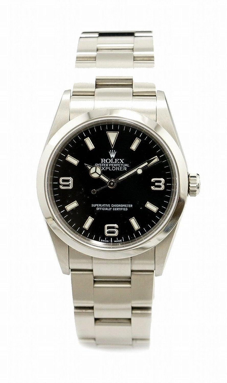 [ロレックス] ROLEX エクスプローラー1 SS K番 メンズ AT オートマ 腕時計 114270 [中古] B077LNZLNT