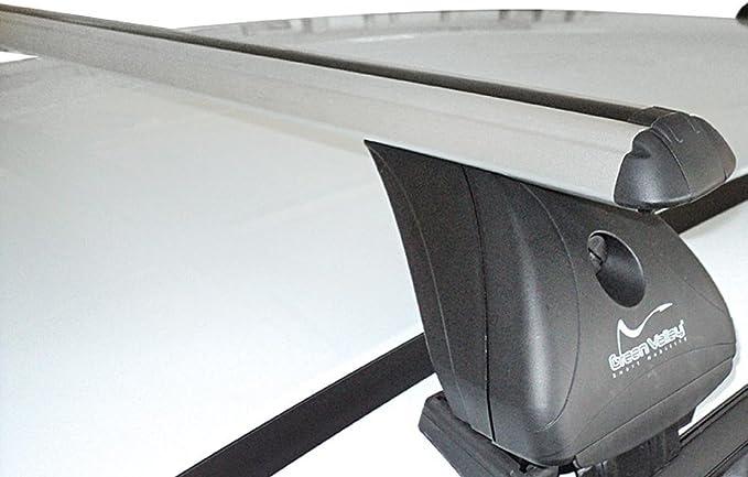 Alu Dachträger Aurilis Original Kompatibel Mit Ford S Max Kombi Ohne Reling 5 Türer Ab 2015 Auto
