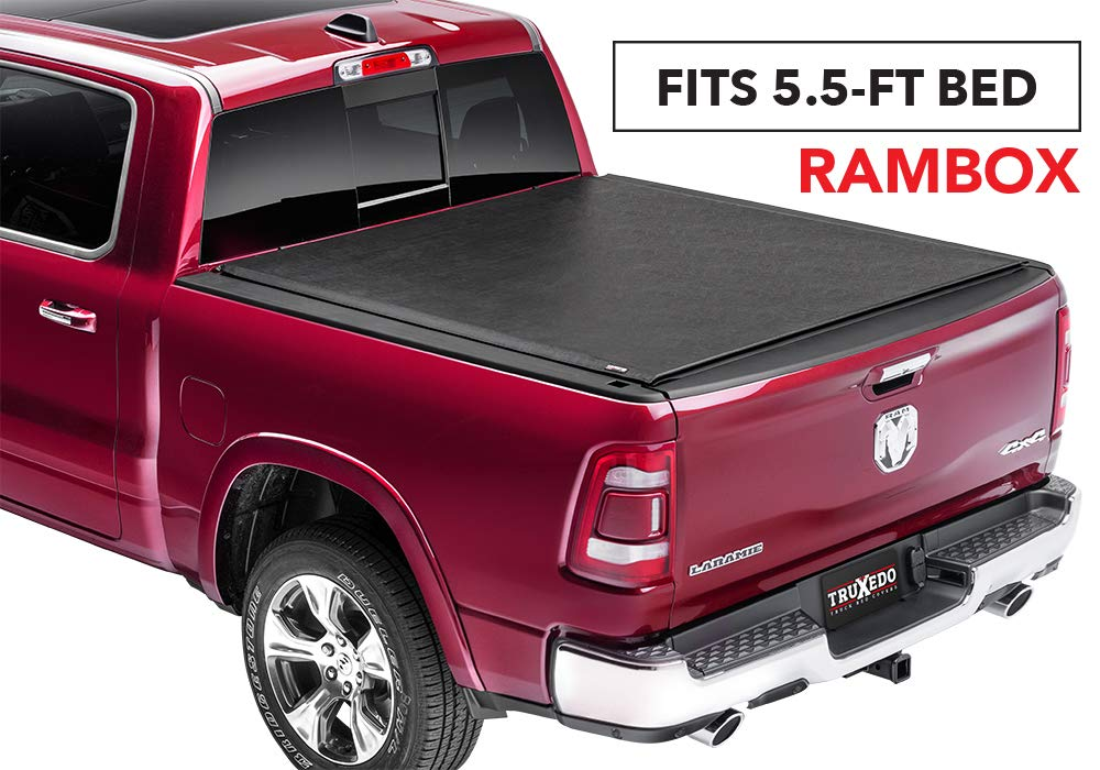 546901 fits 10-18 Ram 2500//3500 64 Bed TruXedo Lo Pro Soft Roll-up Truck Bed Tonneau Cover