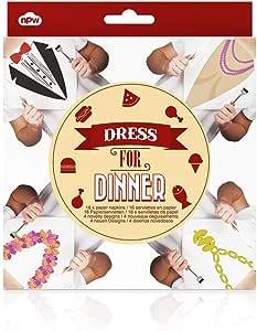 NPW Dress for Dinner Paper Napkins (Set of 16)