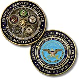 Proud Military Family Challenge Coin…