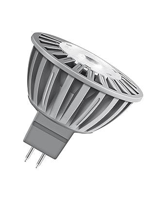 Osram LED Superstar dimmbar MR16 Reflektorlampe GU5,3 3,7W = 20W Warmweiß 2700k