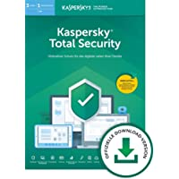 Kaspersky Total Security 2019 Standard | 3 Geräte | 1 Jahr | Windows/Mac/Android | Download | Standard | 3 Geräte | 1 Jahr | PC/Mac | Online Code