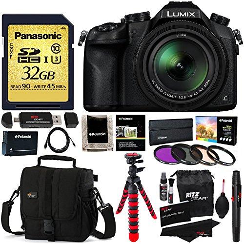 Panasonic Lumix DMC-FZ1000 4K QFHD/HD Leica Lens 16X Zoom Di