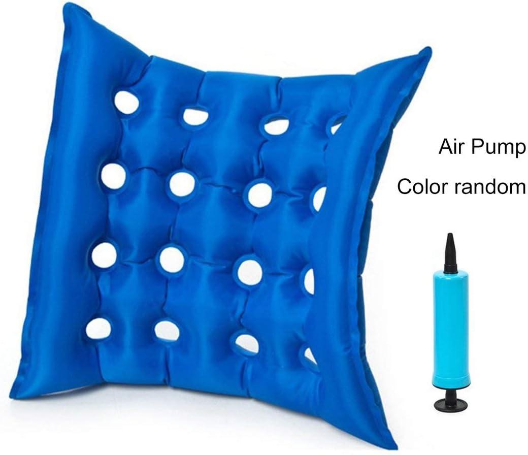 MXECO Plaza casera del PVC Inflable del Aire antiescaras de decúbito Pad Chair Médico del Amortiguador de Aire de Ruedas Cuidado de la Salud Mat
