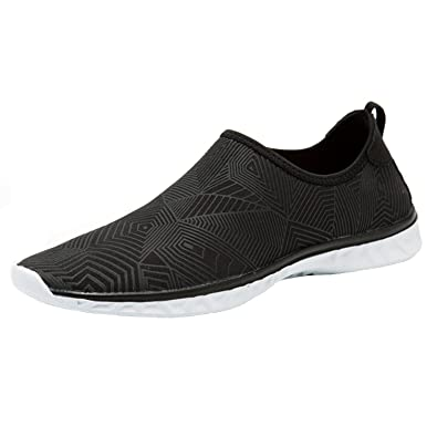 Men's Women's Mesh Slip On Quick Drying Aqua Water Shoes Multifunctional Sneakers With Drainage Holes