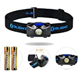 Olight® H04 ACTVIE LED Head Torch 120 Lumens with OSRAM P8 Cool White LED TIR lens Powered by 2 x AAA Batteries LED Headlight Headlamp for Camping Hiking Running Night Walking