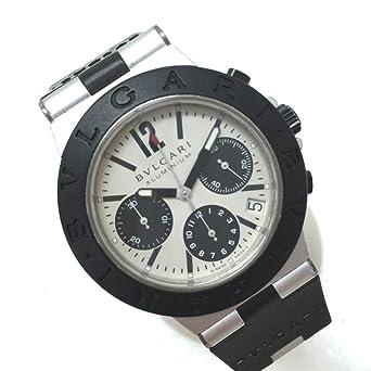 info for 9f35e d4218 Amazon | (ブルガリ)BVLGARI AC38TA アルミニウム メンズ腕時計 ...