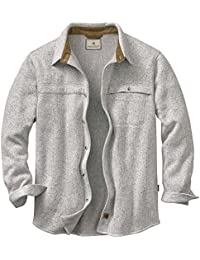 Men's Silent Hide Sweater Fleece Button Down