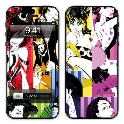 Diabloskinz B0081-0003-0015 Vinyl Skin für Apple iPhone 5/5S Sin Candy