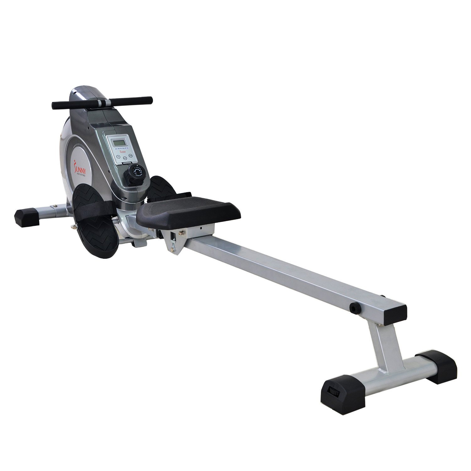 Sunny Health & Fitness Magnetic Rowing Machine with LCD Monitor by SF-RW5515 by Sunny Health & Fitness (Image #2)