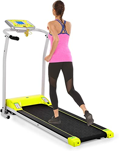 Mauccau Folding Treadmill Electric Motorized Running Machine Portable Treadmill