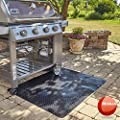 Resilia Plastic, Anti-Stain Grill and Garage Protective Mat