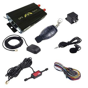 ATian GPS SMS de Perseguidor TK103B con fernsteuerungs libre PC de Versions de software de Google tarjeta Conexión Real Tiempo Seguimiento