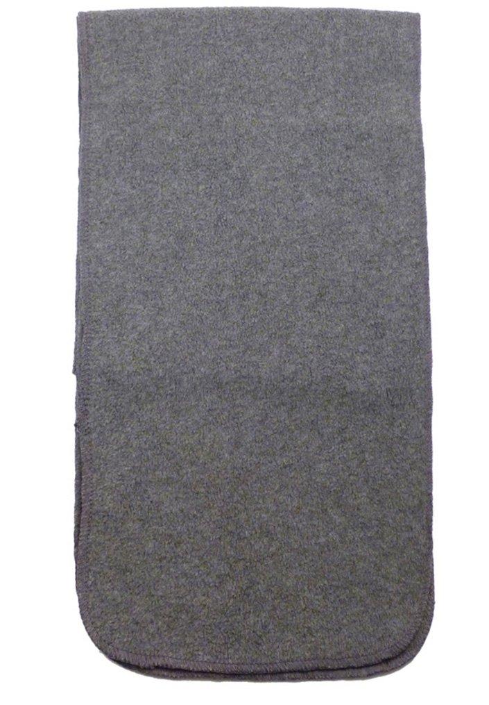 Simplicity Men/Women Winter Anti-Pilling Fleece Neck Scarf, Charcoal