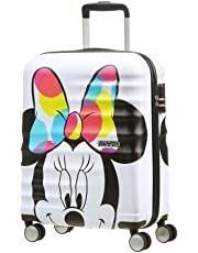 American Tourister Disney Wavebreaker, Bagaglio a mano , Multicolore (Minnie Close-Up), 36 liters, S (55cm-36L)