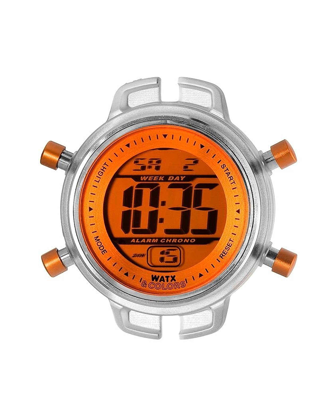 Amazon.com: Womans watch RELOJ WATX & COLORS NIÑO DIG.NARANJA RWA1501: WatxandCo: Watches