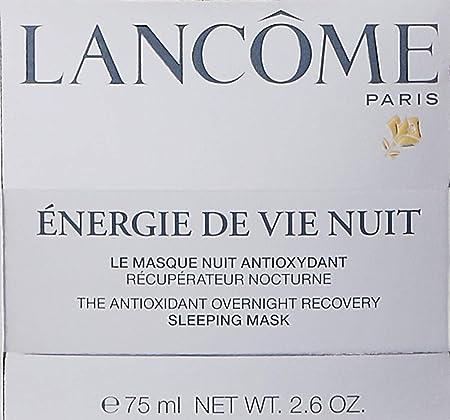 Lancaster Energie De Vie Nuit Sleeping Mask for Unisex, 2.6 Ounce