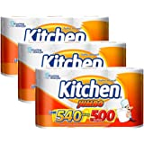 Kit Papel Toalha Folha Dupla Kitchen Jumbo 1.620 Folhas