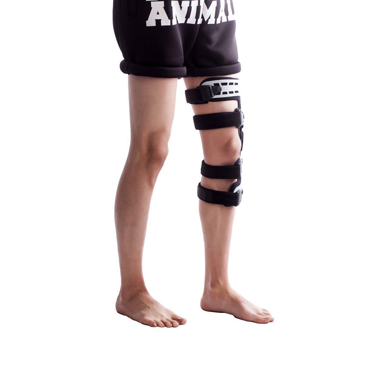 Orthomen OA Unloading Knee Brace for Osteoarthritis – Bone on Bone - Lateral Support - Size: Universal/Left by Orthomen (Image #4)