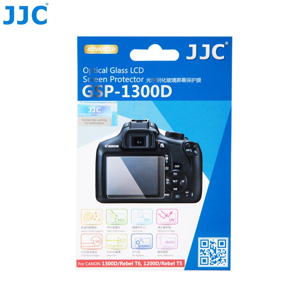 JJC GSP-1300D Tempered Optical Glass Screen..