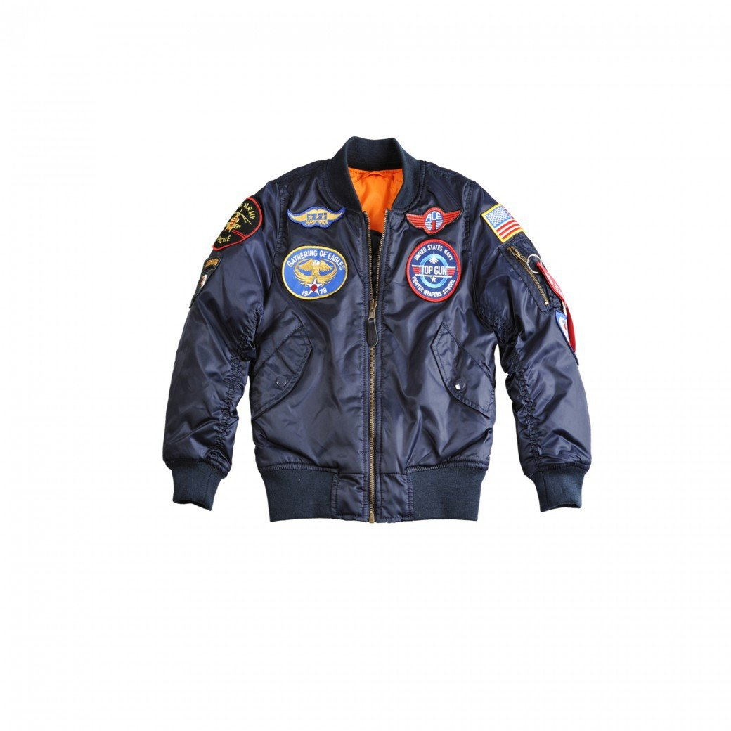 Alpha Industries MA-1 Patch Youth Transition Coatt
