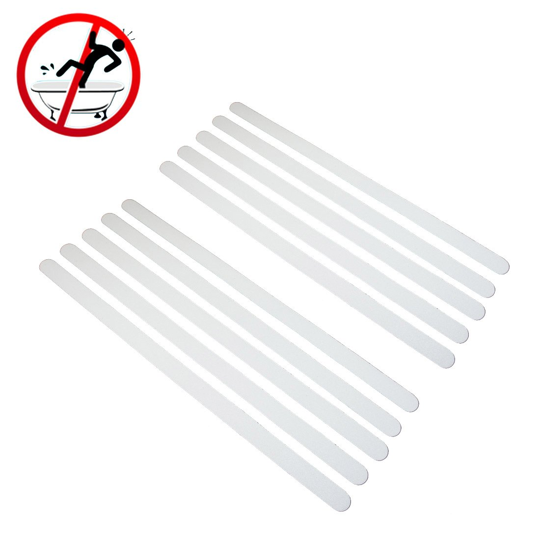 Turbo SlippySafe Anti Rutsch Sticker Streifen für Badewanne und Dusche  TL56
