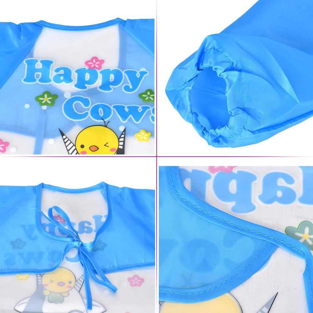 Baby L/ätzchen Towinle 6er Pack Baby L/ätzchen mit /Ärmeln Wasserdicht Baby F/ütterung L/ätzchen Unisex Baby Sch/ürze