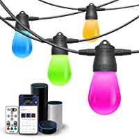 Govee 6 Bulbs Connectable WiFi Smart Outdoor String Light