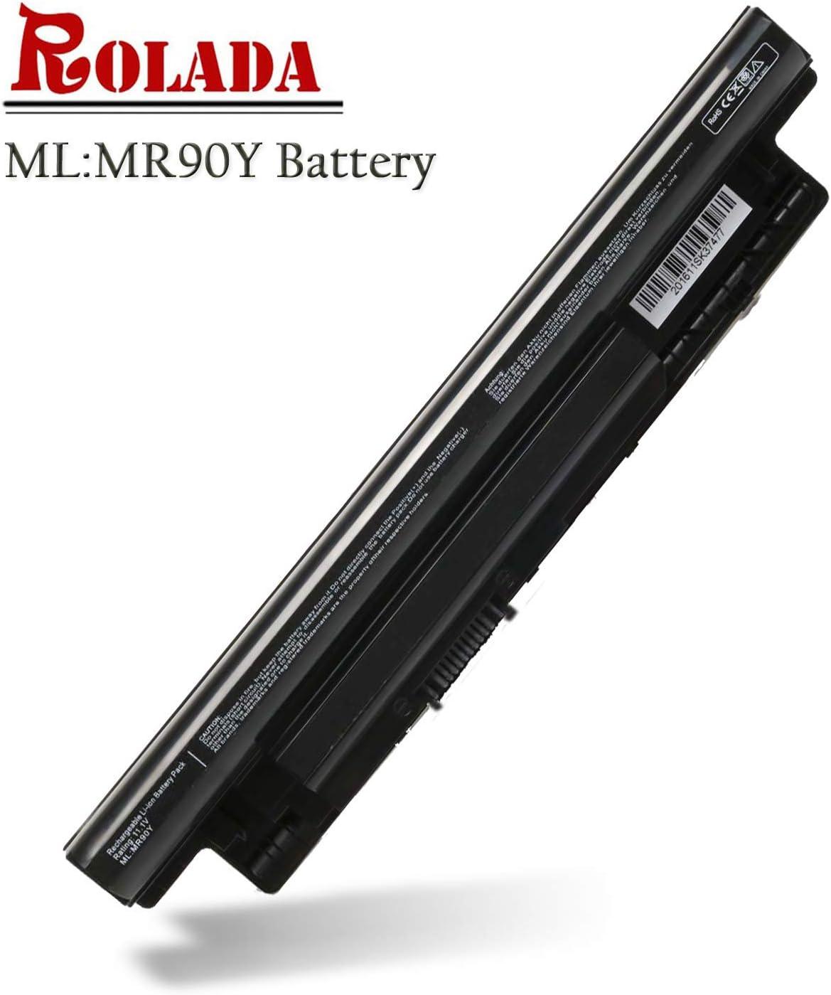 MR90Y New Laptop Battery for Dell Inspiron 14-3421 14-3437 14R-5421 14R-5437, 15-3521 15-3537 15R-5521 15R-5537, 17-3721 17-3737 17R-5721 17R-5737; PN: 0MF69 N121Y G35K4 MK1R0