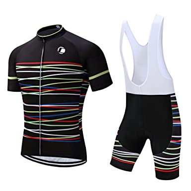 Coconut Ropamo Summer Men s Cycling Jersey Road Bike Jersey Cycling Bib  Shorts with 4D Padded Cycling 2cadeabea