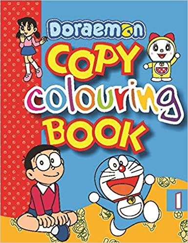 Buy Doraemon Copy Colouring Book 1 Online At Low Prices In India