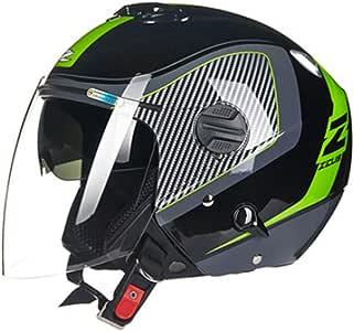 MMRLY Cascos Abiertos para Motocicletas, Casco de helicóptero de ...