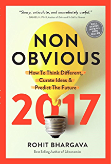 Amazon non obvious how to think different curate ideas non obvious 2017 how to think different curate ideas and predict the future fandeluxe Choice Image